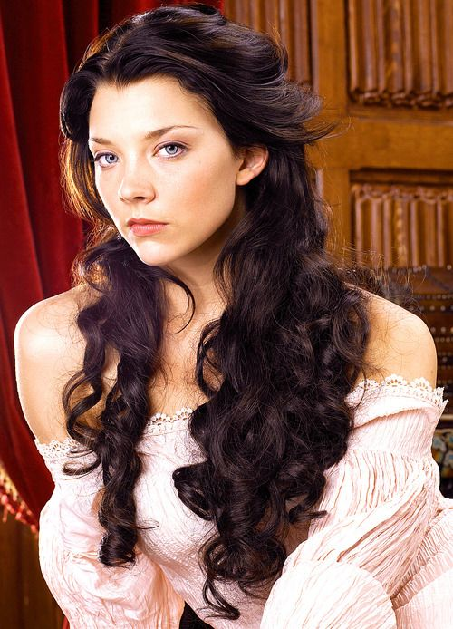 Natalie Dormer in The Tudors. I love her! She plays the perfect unsuspecting manipulative women.