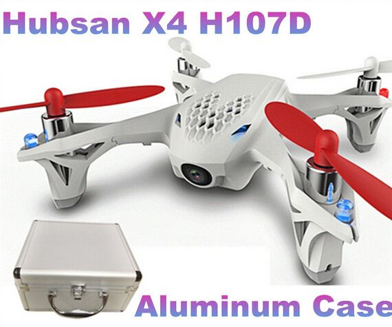 100% Original Hubsan X4 H107D With Aluminum Case FPV 4CH 6 Axis Camera RC Quadcopter w/ FPV LCD Transmitter //Price: $US $147.00 & FREE Shipping //     #rchelicopters