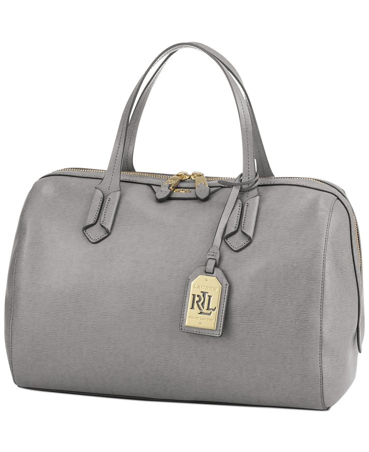 Lauren Ralph Lauren Tate Large Barrel Satchel