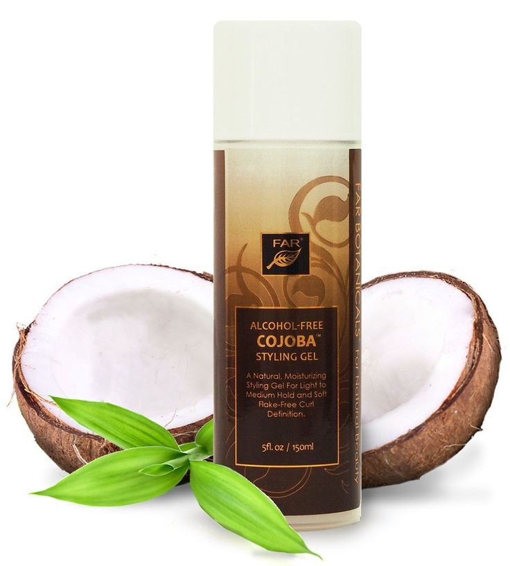 Alcohol-Free Cojoba Styling Gel