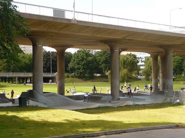 27 best images about under bridge design on pinterest for Spaces landscape architecture