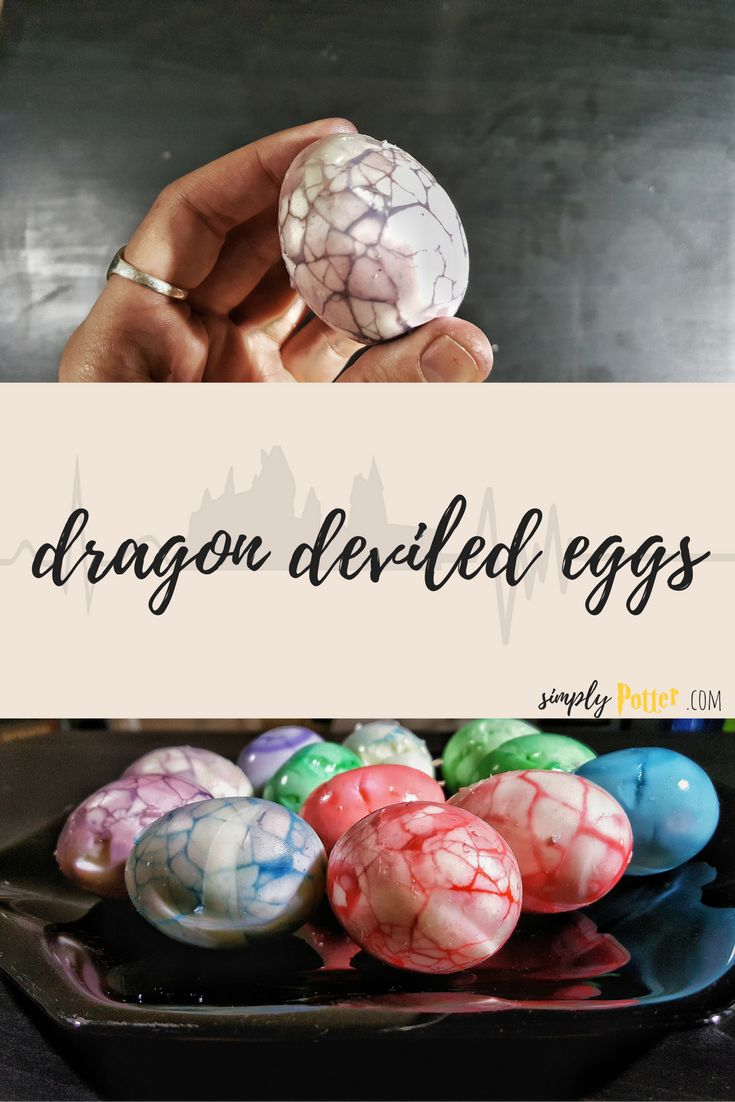 Dragon Deviled Eggs Harry Potter