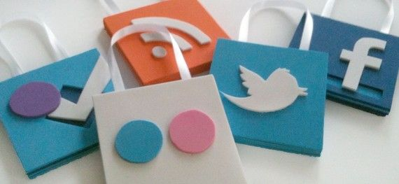 Social media ornaments for that special social media nerd in your life.