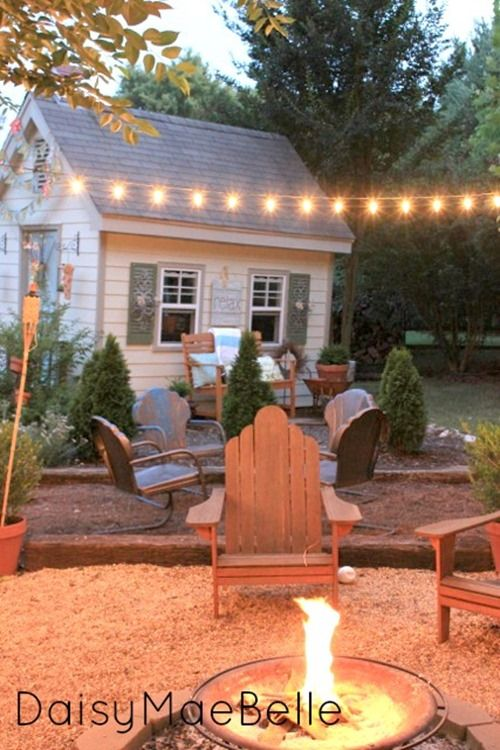 how to set up outdoor small patio