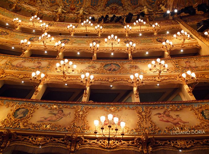 Teatro La Fenice, Venice.