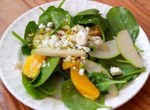 Irish Flag salad - very fresh & delicious!