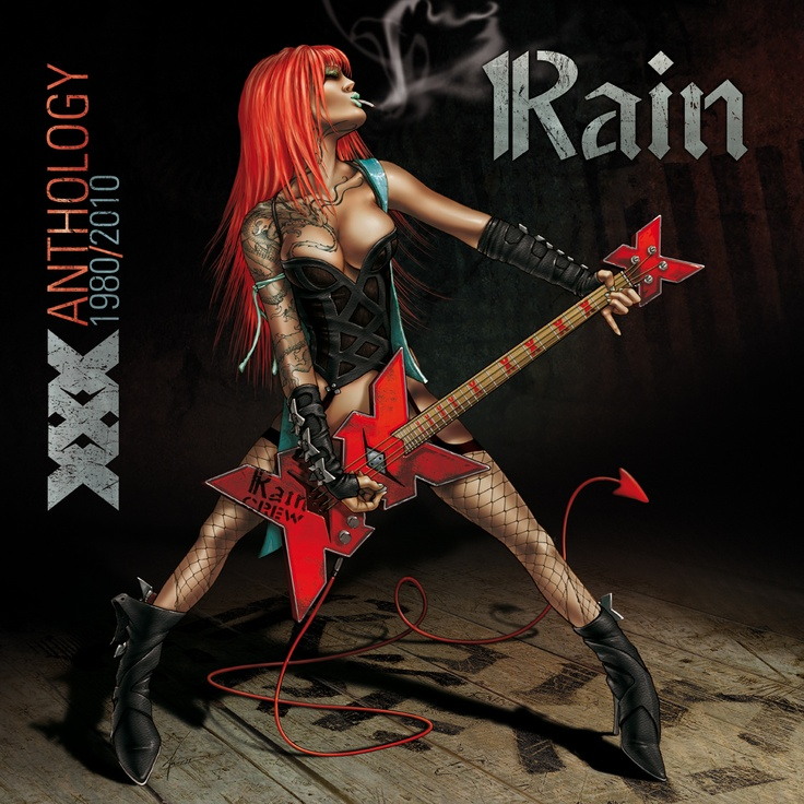 RAIN XXX Art Cover CD Pencil/Ph by Umberto Stagni / PastaVolante