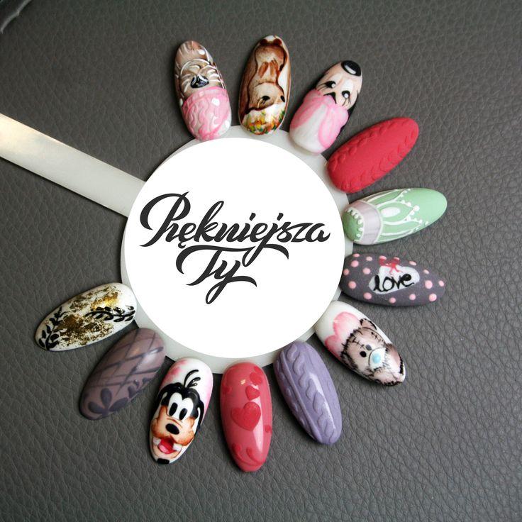 #manicure #hybryda #paznokcie #skierniewice #piekniejszaty #żele #wzorki #nail #nailart #goofy #autumn