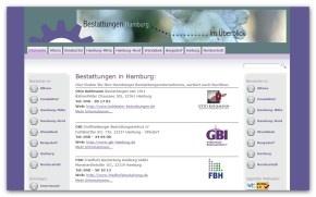 Bestattungsunternehmen in Hamburg
