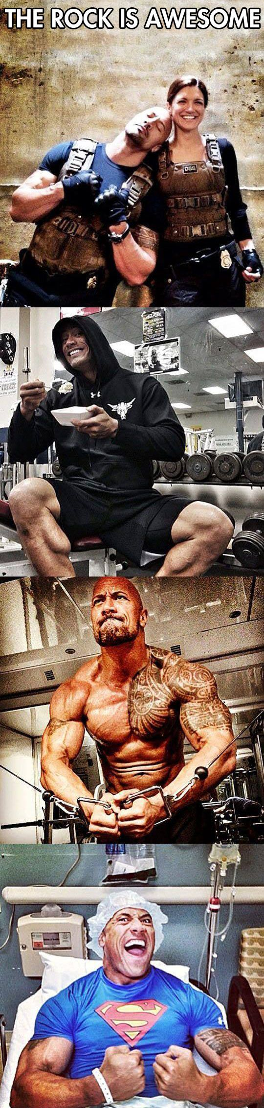 Some of the reasons Dwayne Johnson is an awesome guy... - The Meta Picture