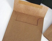 150 Kraft Paper CD envelopes. $60.00, via Etsy.