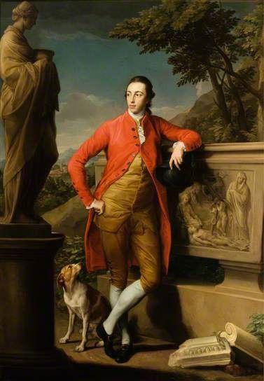 George Gordon, Lord Haddo, 1775 By Pompeo Batoni