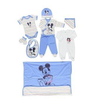 Disney 10'lu Mickey Mouse Erkek Bebek Hastane Çıkışı