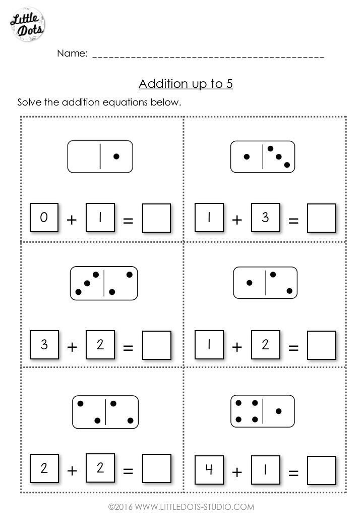 38 Best Free Kindergarten Math Worksheets Images On Pinterest