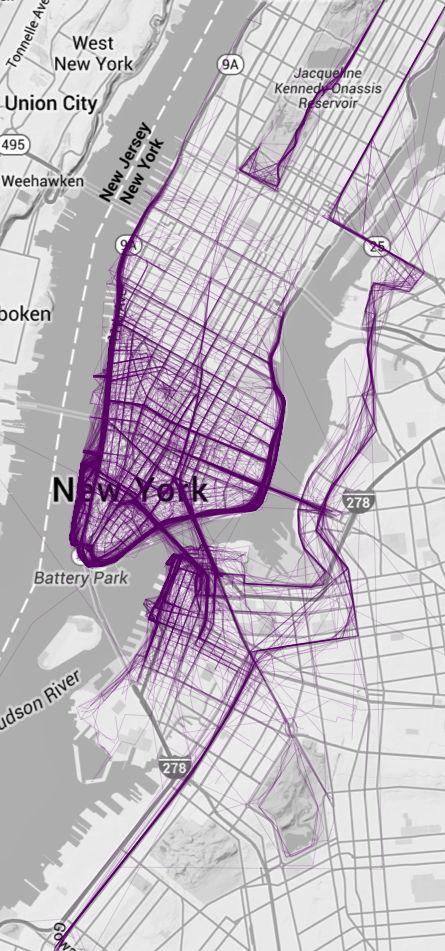uber lab map