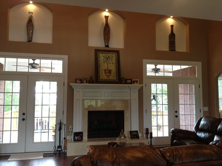 Living Room Decorating Art Niches Decor Pinterest