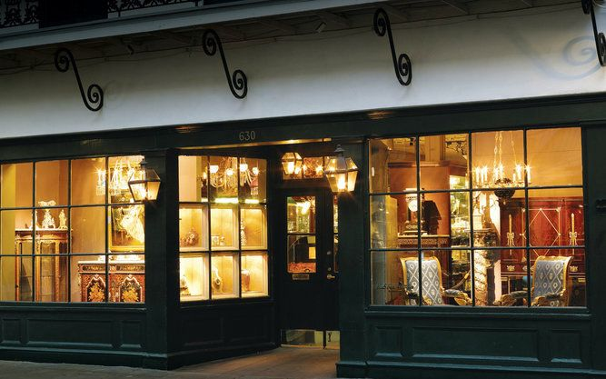 MS Rau Antiques Store in New Orleans