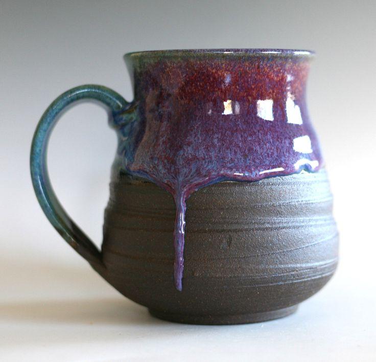 EXTRA LARGE Coffee Mug, 27 oz, handmade ceramic stoneware pottery mug by ocpottery on Etsy https://www.etsy.com/listing/212653382/extra-large-coffee-mug-27-oz-handmade