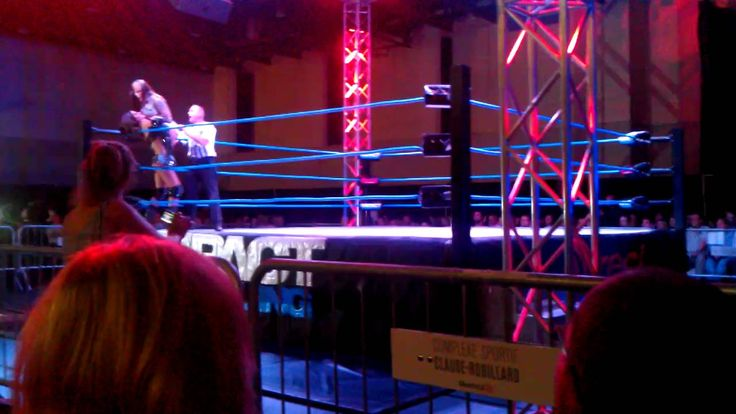 Brooke Tessmacher vs ODB, Tna Impact Wrestling Show, October 7, Montreal PQ