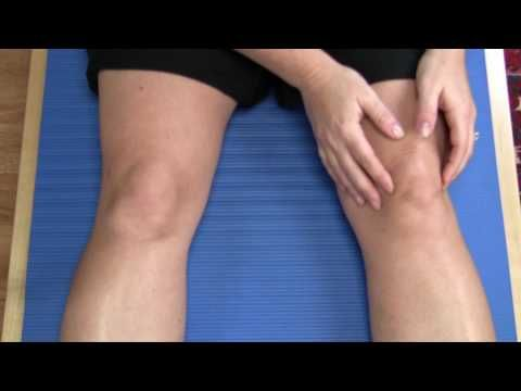 Knee Exercises to Strenghen Muscles around the Patella to Avoid Knee Pain - YouTube
