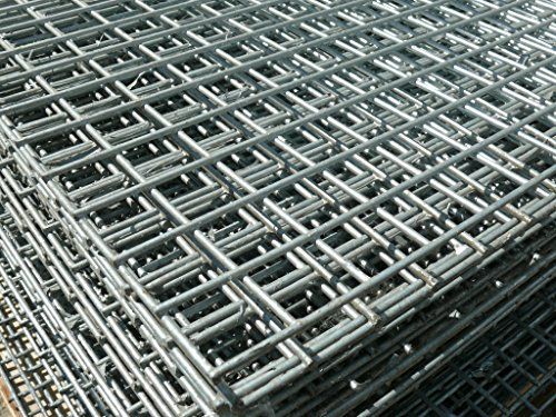 From 29 99 Welded Wire Mesh Panel 8ft X 4ft Galvanised Steel Sheet Metal Grid 1 Quot 25mm Holes 12