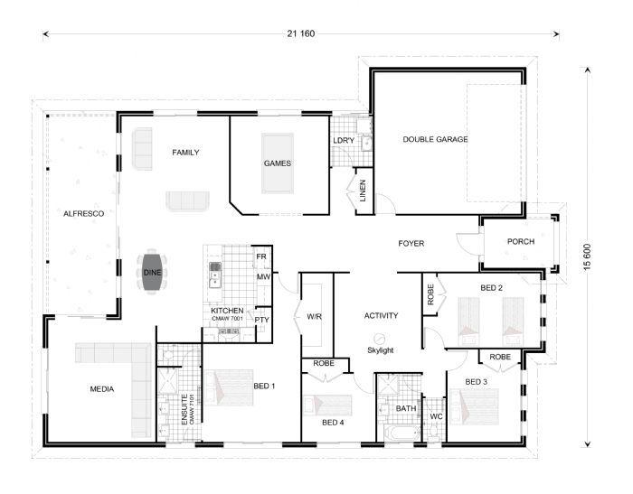 Broadbeach 291, Our Designs, South Australia Builder, GJ Gardner Homes South Australia