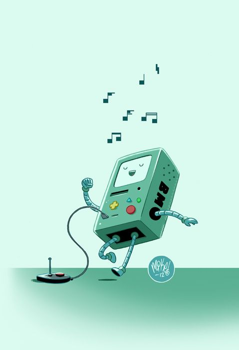 BMO by *mikemaihack on deviantART