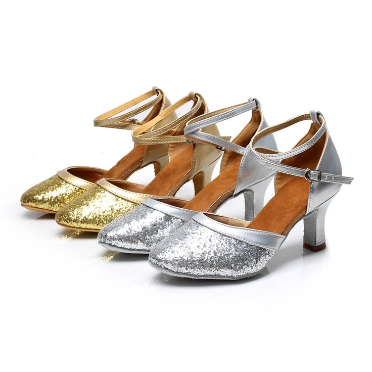 Brand New Women's Dance Shoes Heeled Tango Ballroom Latin Salsa Dancing Shoes For Ladies Hot Sales