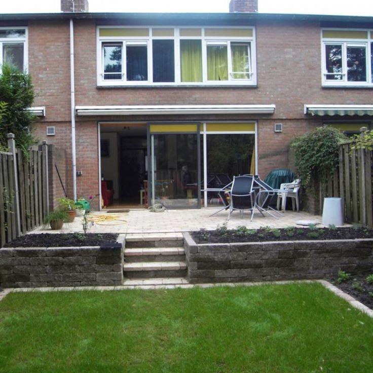 25 beste idee n over stenen trap op pinterest rots treden hellende tuin en tuin trappen - Veranda met stenen muur ...
