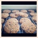 Galletas de manzana, canela y almendras | #Receta de cocina | #Vegana - Vegetariana ecoagricultor.com