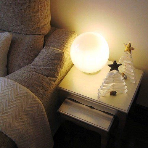 décoration de Noël originale: bricolage de sapins en papier