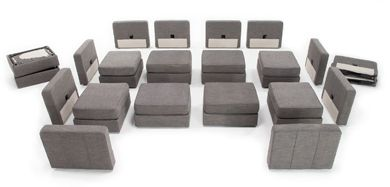 ANY Configuration you want.  Hard to believe, right?! | Modular Furniture | Most Amazing Sectional Sofa Known To Mankind |#Lovesac Sactionals