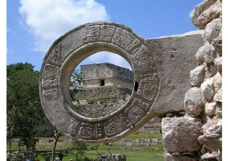 "The Mayans played ""The Great Ball Game"" in Chichen ItzaGames, Mayan Ball, De Pelotas, Ball Games, Court, Ancient Time, Mayan Ruins, Photos Shared, Mexico Lindos"