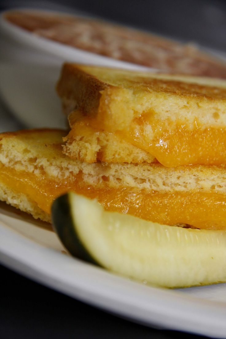The perfect grilled cheese. Billy Heartbeat's in Lloyd Center Mall, Portland Oregon