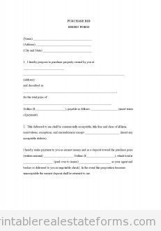 17 Best images about Free Printable Real Estate Forms on Pinterest ...