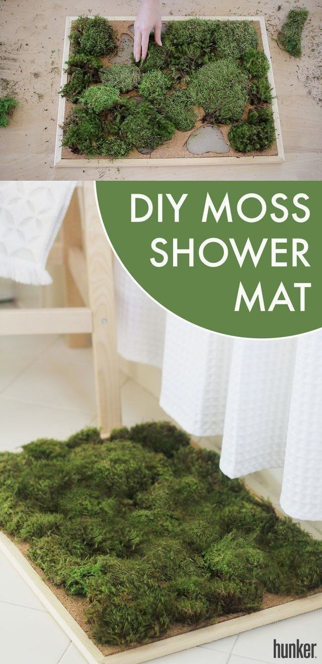 Do It Yourself Bath Mat Projects Spa Inspired Bathroom Moss