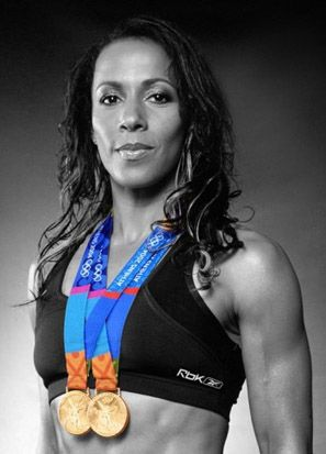 Kelly Holmes. Middle distance athlete.  Born Kent.  Won gold for Britain in 800 and 1500 metres in the Athens Olympics, 2004.  Awarded DBE in 2005. Awarded an honorary degree  by London South Bank University in 2010 so we guess she has local connections but we can't be more precise. Happy Birthday Kelly <3
