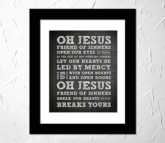 Casting Crowns - Thoughts on Jesus, Friend of Sinners Lyrics