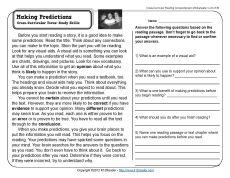 reading comprehension strategies worksheets for 3rd grade 3rd grade 4th reading writing. Black Bedroom Furniture Sets. Home Design Ideas