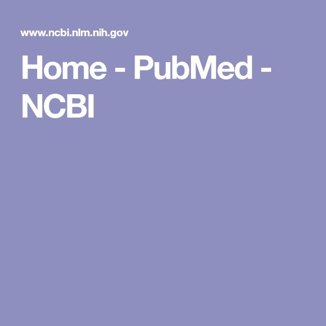 Home - PubMed - NCBI