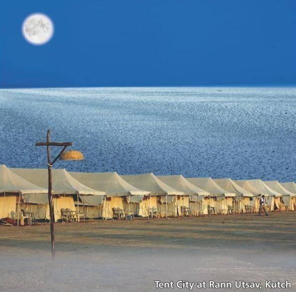 Tent City at Rann Utsav