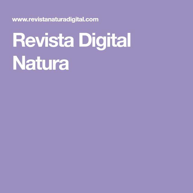Revista Digital Natura