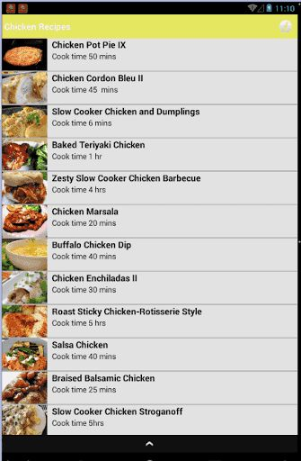 Welcome to my app Chiken Recipes an awesome application  and   easy to use it   Chicken is the most searched ingredient on the net .au and for good reason! Chicken is a great verstaile protein that you can cook in many different flavours. And we've done all the thinking for you with this easy chicken recipe collection that everyone will love! on this app you Free Recipes we've more than 50 tested recipes to choose from  and has more than 30 kitchen-approved chicken recipes. Looking ...