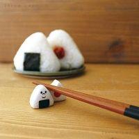 데꼴 주먹밥 젓가락받침 ※ 일본 예쁜 DECOLE 도자기 수저받침