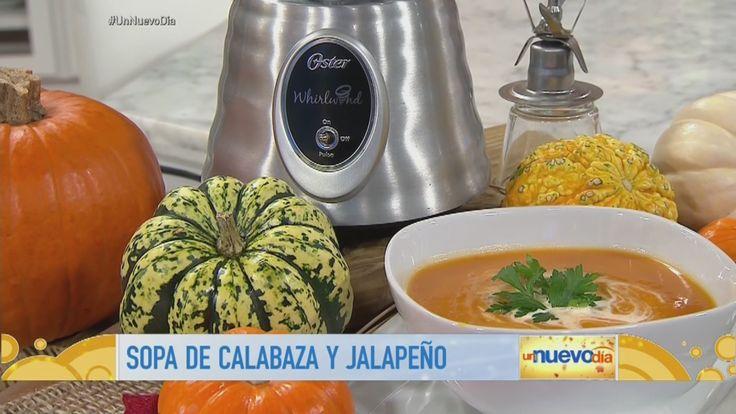 El chef James nos muestra cómo hacer una Sopa de Calabaza y Jalapeño, una receta repleta de sabor, que podrás disfrutar en cualquier momento del año.