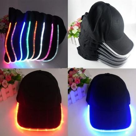 """Fashion led luminous cap Use this code: """"cherry blossom""""  get 10% OFF everytime you shop at (www.sanrense.com)"""