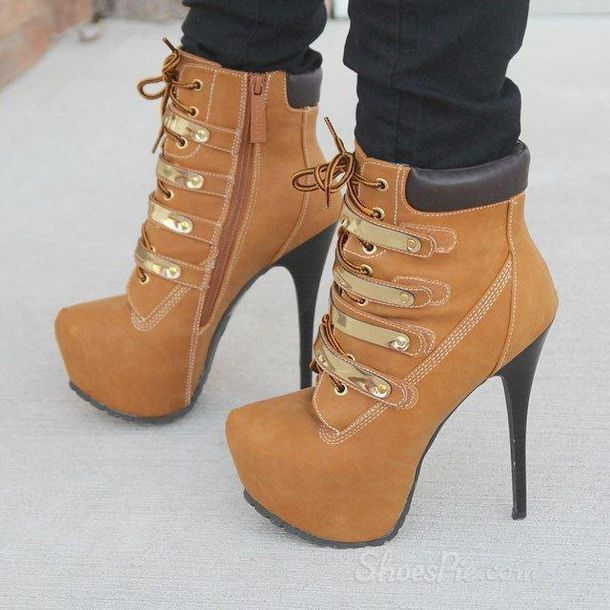 shoes timberland timberlands timberland heels timberland high heels boots booties brown boots brown booties brown heel boots high heeled boots #highheelsboots