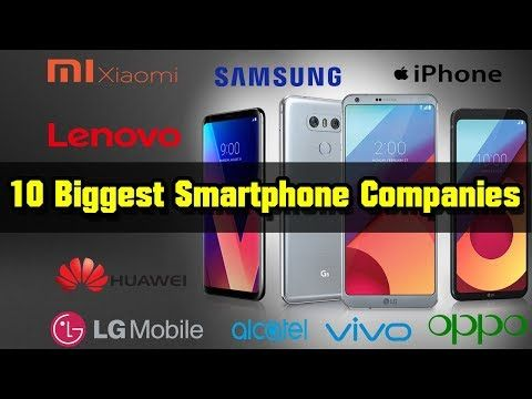 Top 10 Smartphone Brands In The World in 2019 – Today Tech