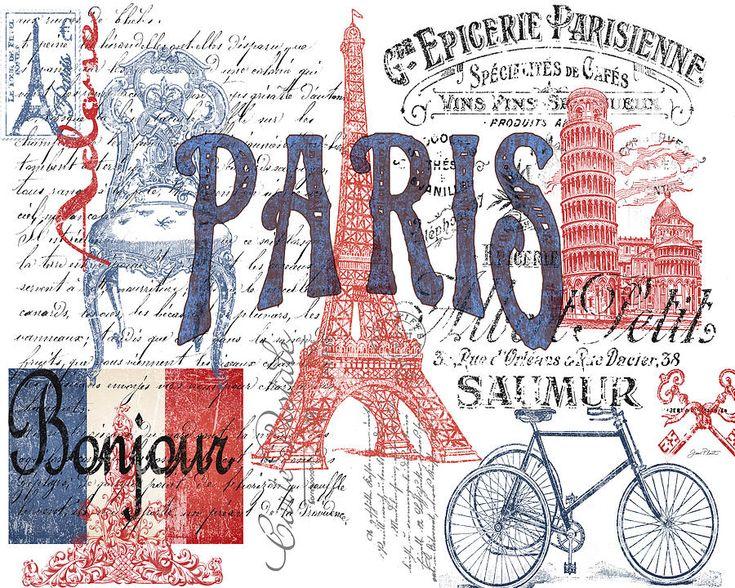 Paris Digital Art  - Paris Fine Art Print