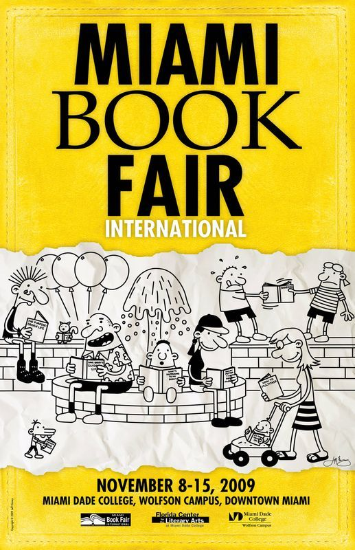 36 best images about Miami Book Fair Posters on Pinterest ... |Kitten Book Fair Posters